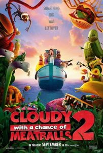 Cloudy with a Chance of Meatballs 2 SDUV